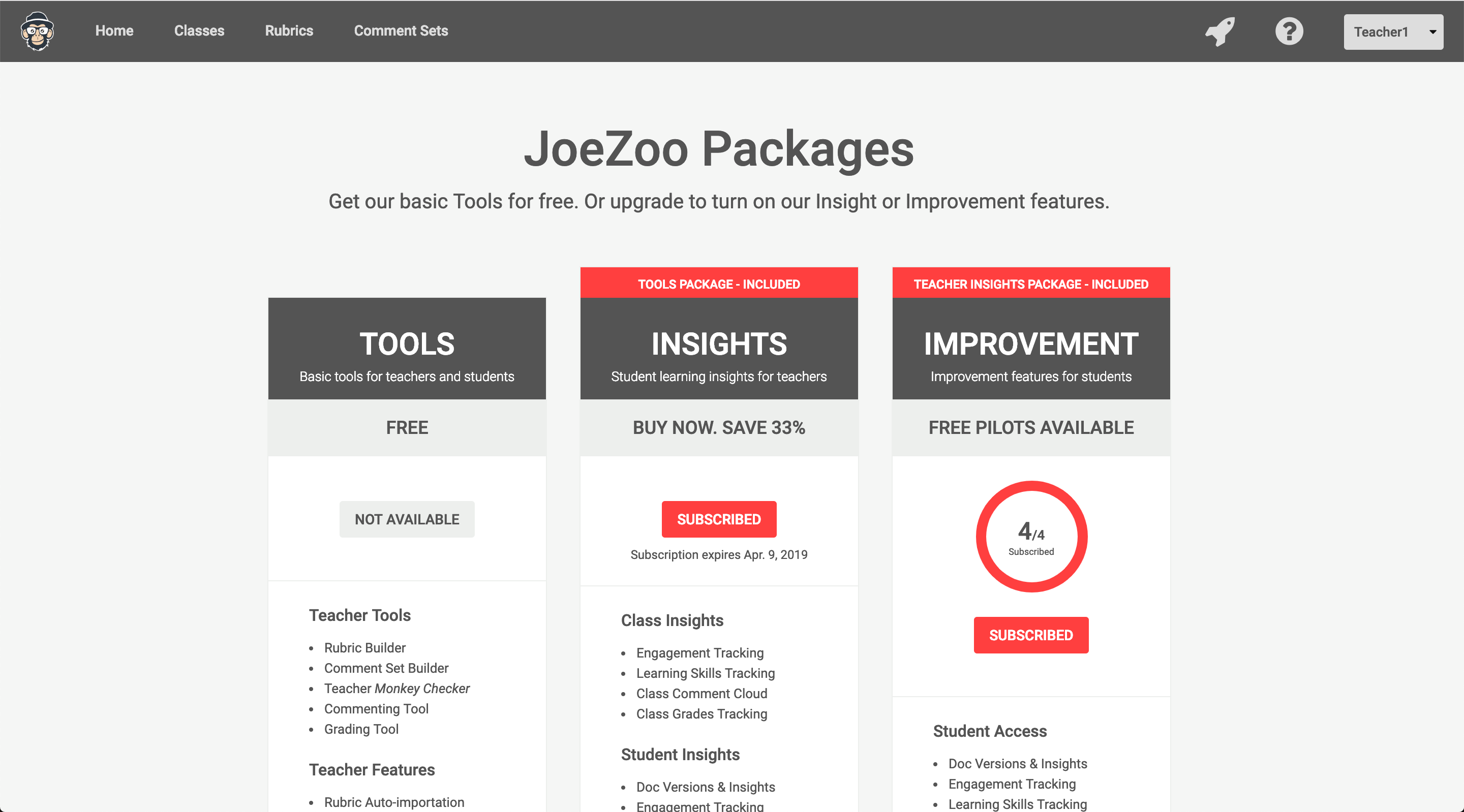 Start with FREE Tools then Upgrade for Insights and Improvements