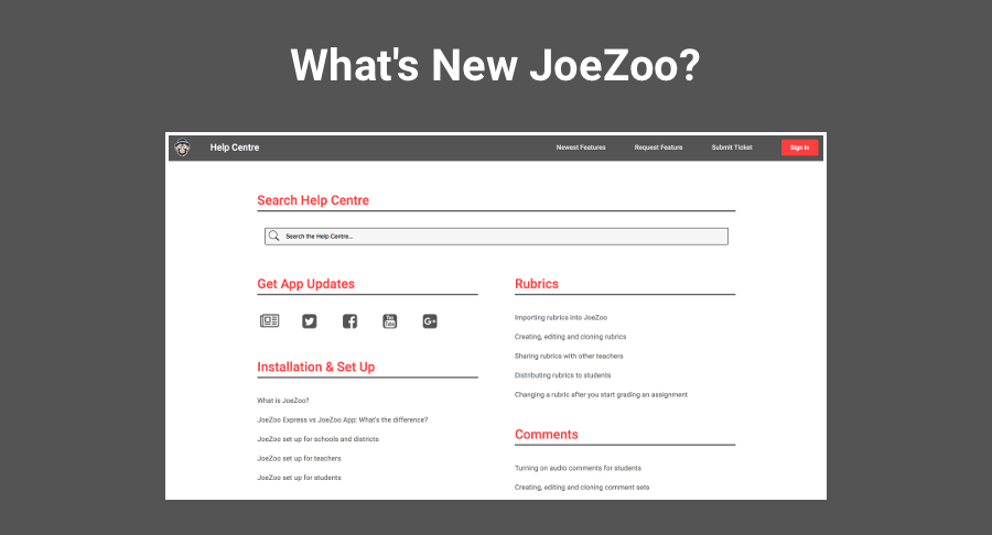 JoeZoo's Support and Training Resources All in One Place