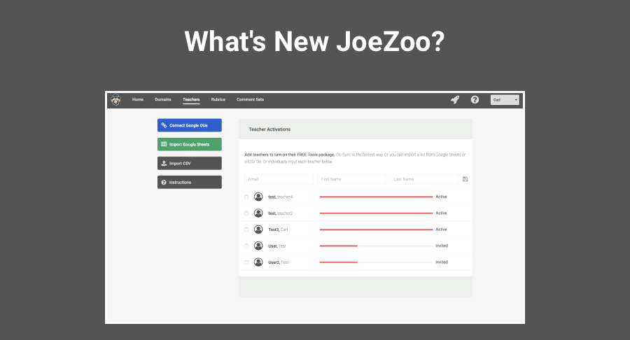 The Fastest Way to Turn on JoeZoo Features for Teachers