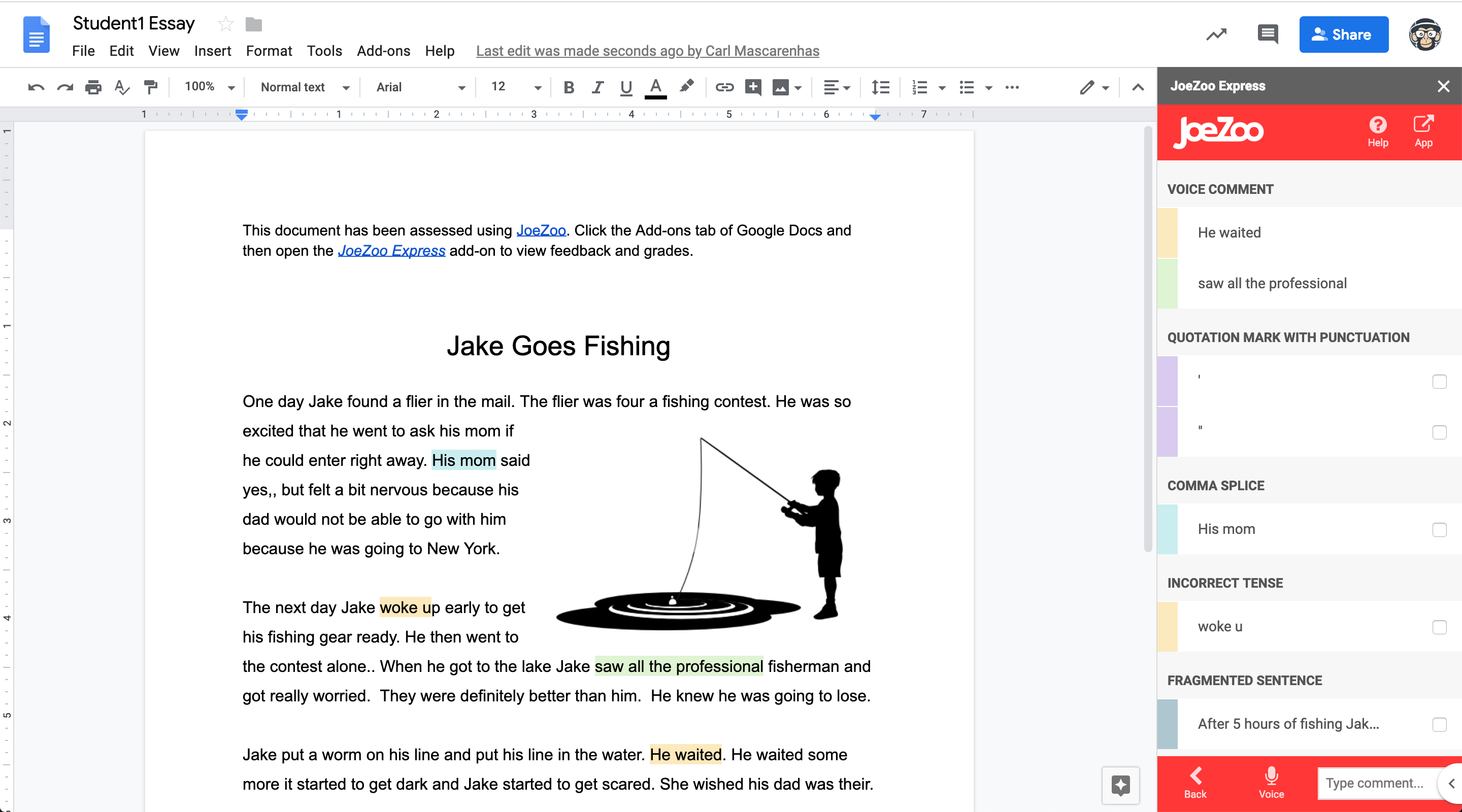 Monkey Checker: Automated Writing Checker for All Teachers
